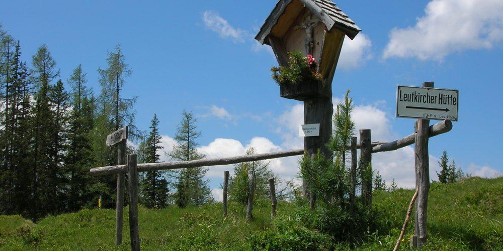 Wegkreuz Leutkircher Hütte