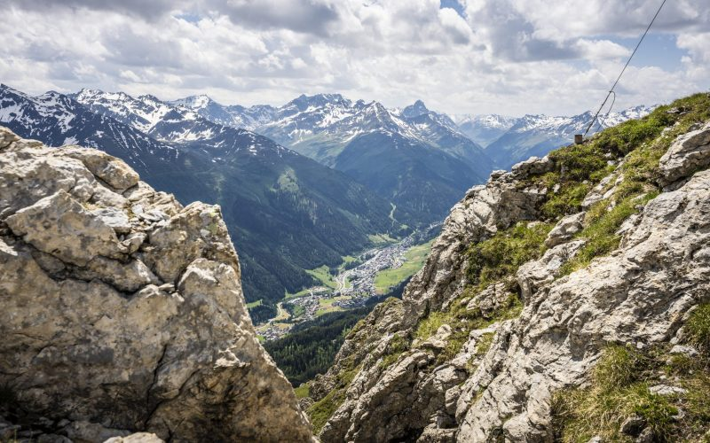 Aussicht von der Leutkirchrer Hütte