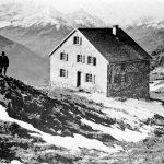 Die Hütte in den Anfängen