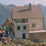 Die Hütte Abriss