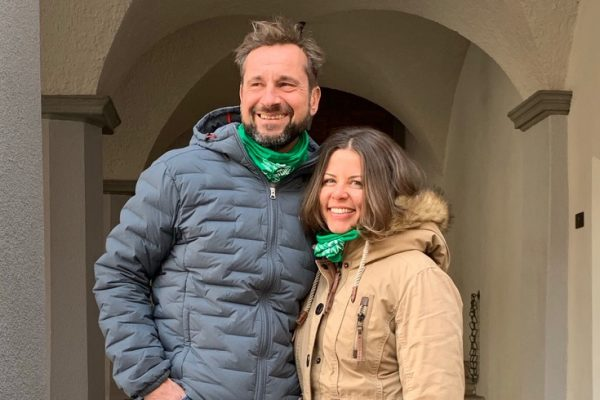 Tom Schnabl und Anja Heimes