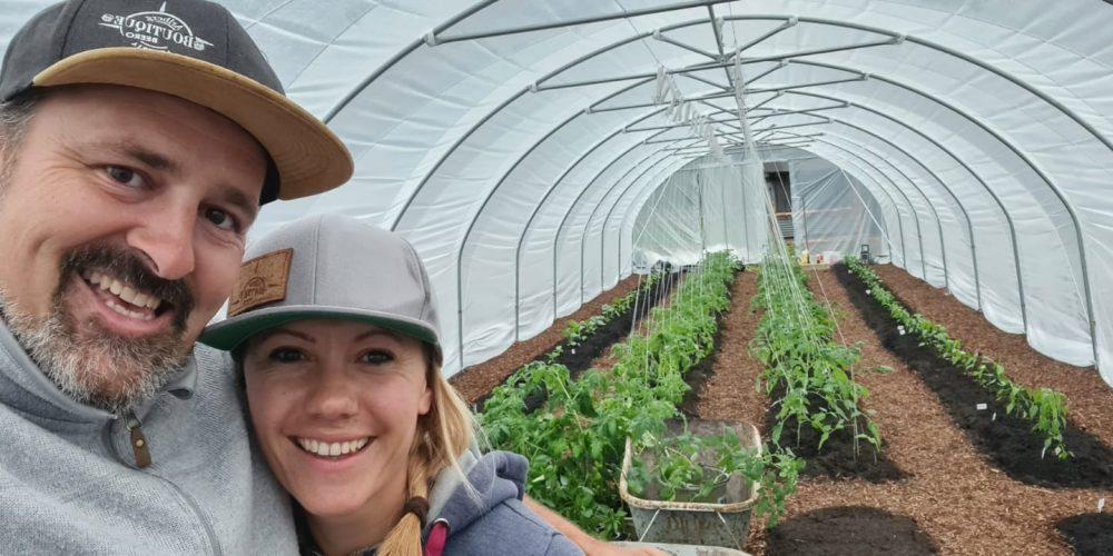 Miri und Dave im Greenhouse